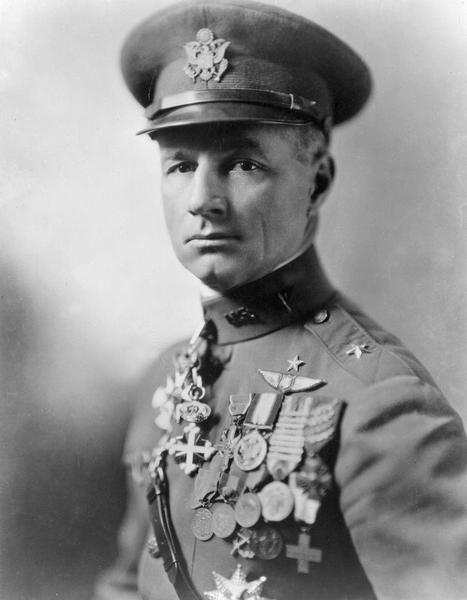 "General William ""Billy"" Mitchell in full dress uniform."
