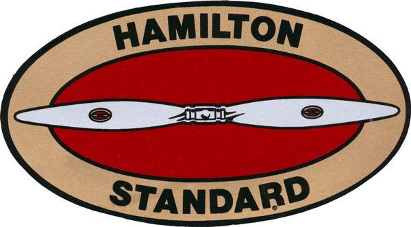 Logo of the Hamilton Standard Propeller Company. Thomas Hamilton of Milwaukee began manufacturing propellers during the 1920s. In 1929 Boeing purchased Hamilton's propeller and metal plane companies.  Later the propeller company merged with the Standard Steel Adjustable Propeller Company (another Boeing acquisition) to form Hamilton Standard. During World War II, Hamilton Standard and its licensees manufactured over 500,000 aircraft propellers. Since 1999 the company has been known as Hamilton Sundstrand.
