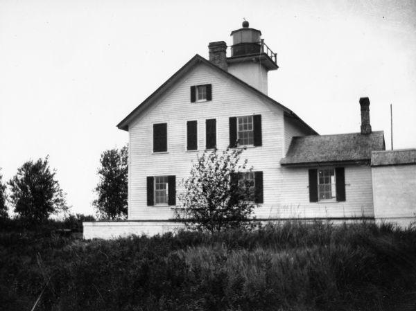 Second Long Tail Point lighthouse, built in 1859.