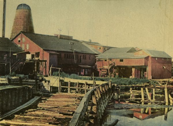 Holt Lumber Company sawmill, built in 1840.