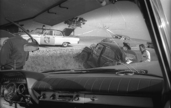 Highway Patrolman's Day | Photograph | Wisconsin Historical Society