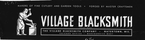 Village Blacksmith Sign