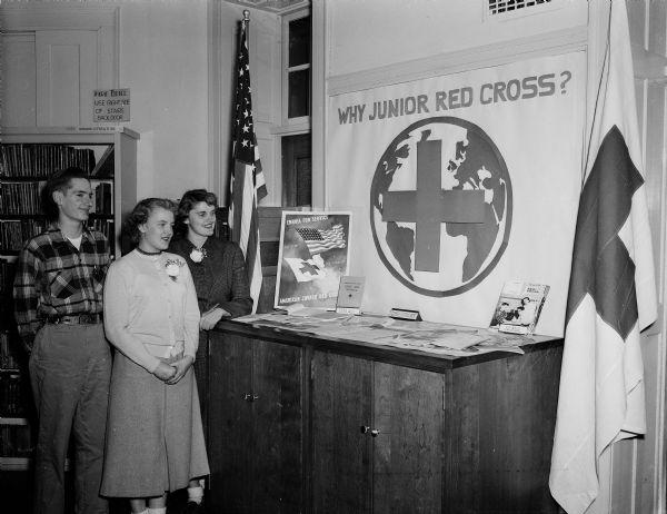 Junior Red Cross Membership Drive | Photograph | Wisconsin