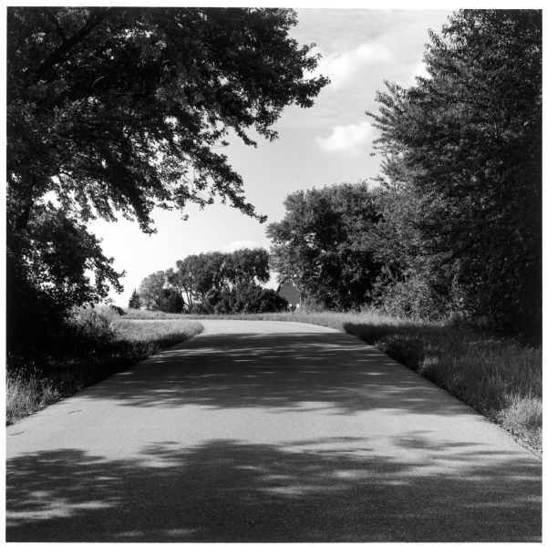 Road at the Old Place on the Quinney farm.