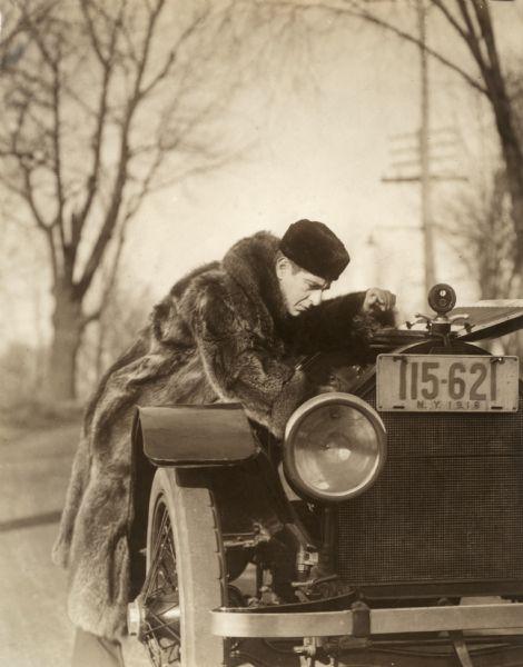 Robert Warwick and a Stutz Bearcat Automobile | Photograph ...