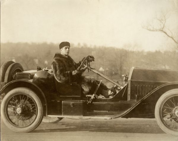 Robert Warwick and a Stutz Bearcat Automobile | Photograph ...