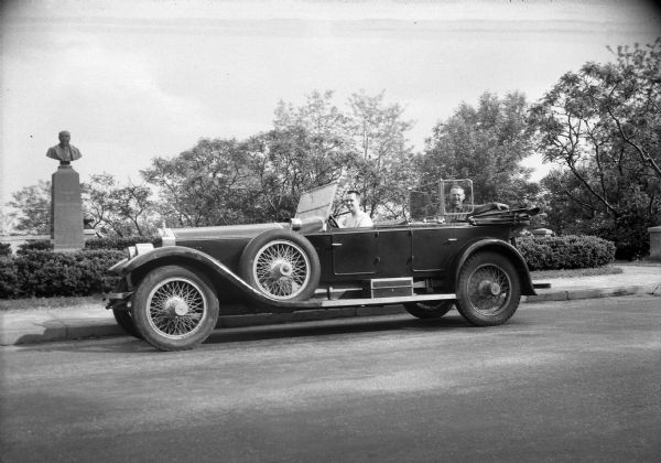Webster Woodmansee's Rolls Royce | Photograph | Wisconsin ...