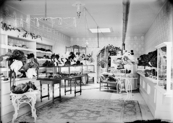 Interior of Mrs. E. Kammeyer s Millinery Shop  6f7a6adfab8