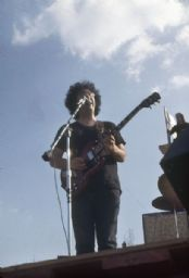Jerry Garcia Playing Guitar and Singing