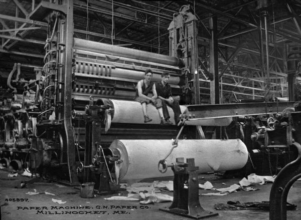 Great Northern Paper Company | Photograph | Wisconsin