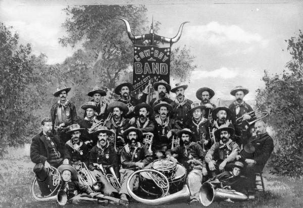 The Original Dodge City Cowboy Band | Photograph | Wisconsin ...