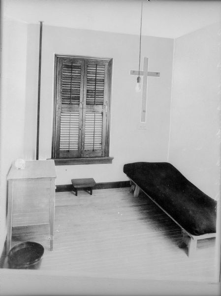Nun's Cell in Carmelite Monastery | Photograph | Wisconsin