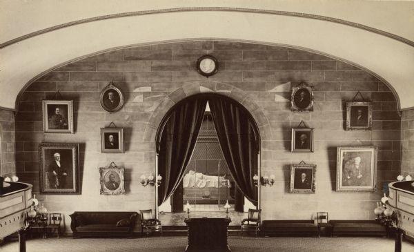 Robert E Lee S Tomb Photograph Wisconsin Historical