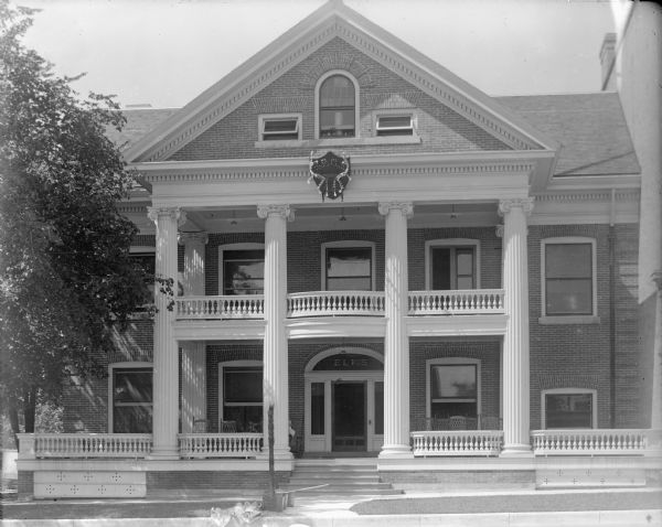Elks Lodge Photograph Wisconsin Historical Society