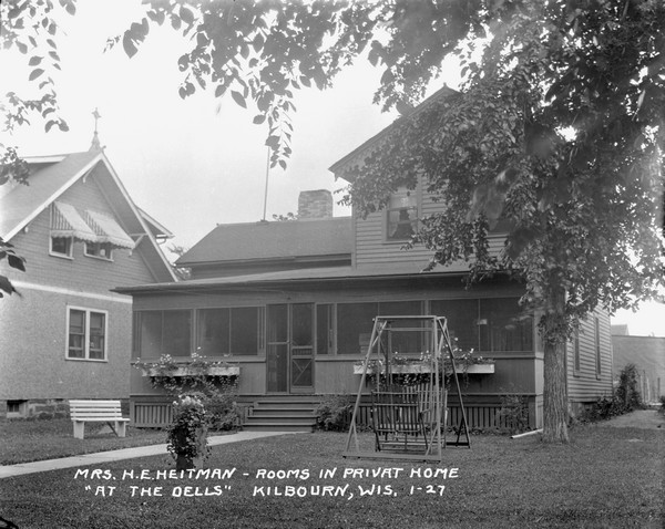 Mrs H E Heitman Rooms In Privat Sic Home Photograph Wisconsin Historical Society