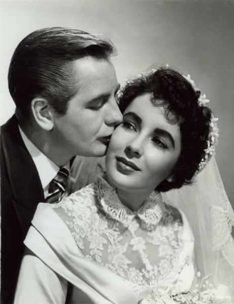 """Don Taylor and Elizabeth Taylor in """"The Father of the ..."""
