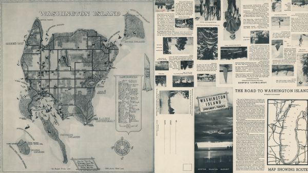 Washington Island | Map or Atlas | Wisconsin Historical Society