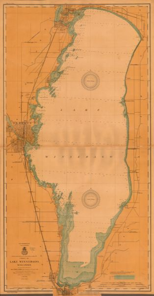 This 1908 Chart From The U S Army Corps Of Engineers Shows Contour And Spot Depths In