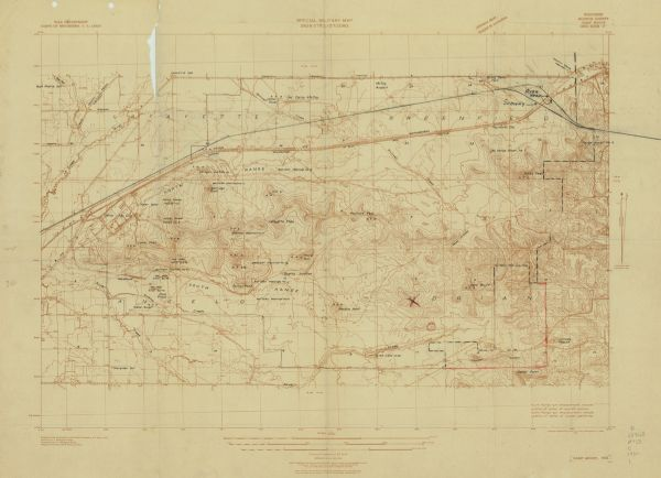 Wisconsin Monroe County Camp McCoy Grid Zone