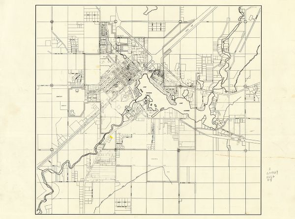 Map Of Hayward Wisconsin And Vicinity Map Or Atlas Wisconsin