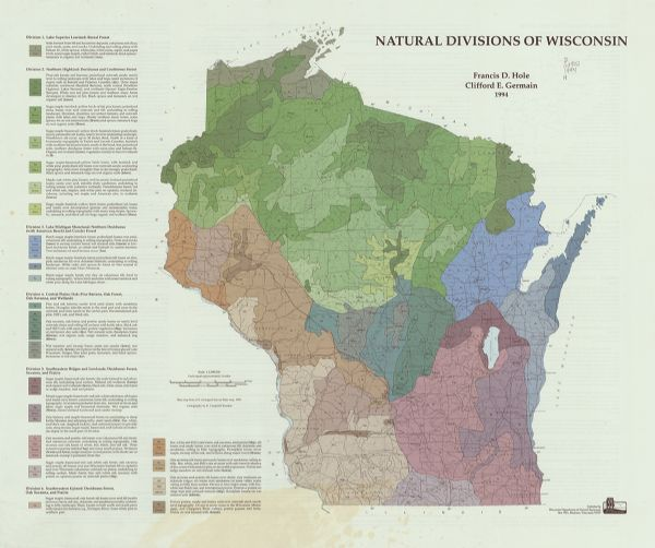 labeled wisconsin map images