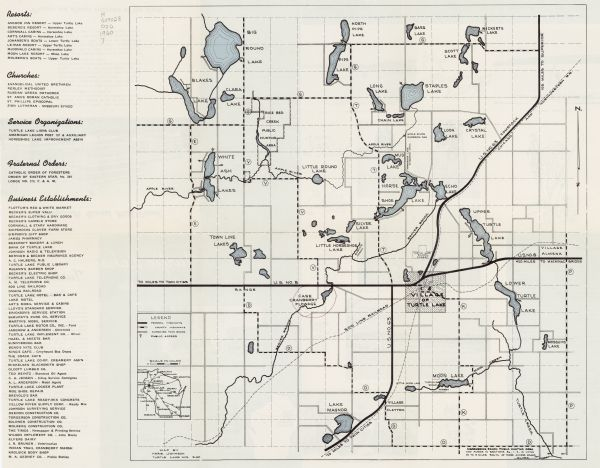 Public Hunting Land Wisconsin Map.Turtle Lake Wisconsin Dairyland S Gateway To Vacation Land Map