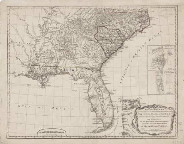 A New and General Map of the Southern Dominions Belonging to the ...