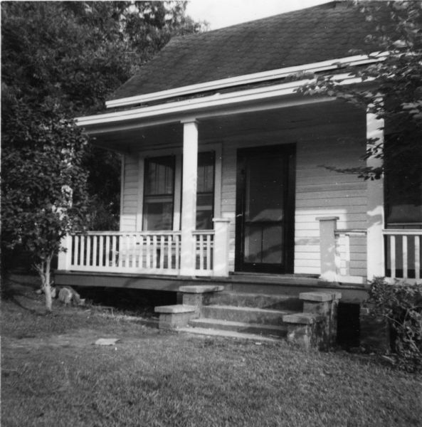 "Exterior view of the Delta Ministry Office at 702 Wall Street taken by a civil rights volunteer. The office was directed by Reverend Harry Bowie, ""the former Episcopal minister of a church in Long Branch, New Jersey."""