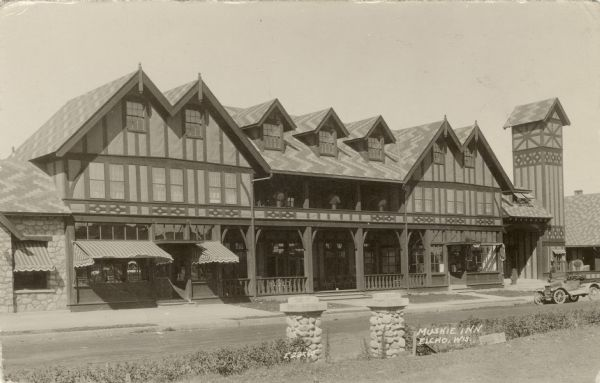 Exterior view of the Muskie Inn.