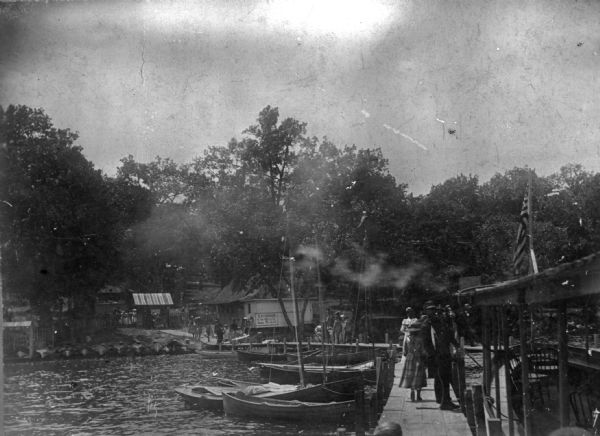 Boats Still Come To Olin Park But They >> Monona Lake Assembly At Olin Park Photograph Wisconsin