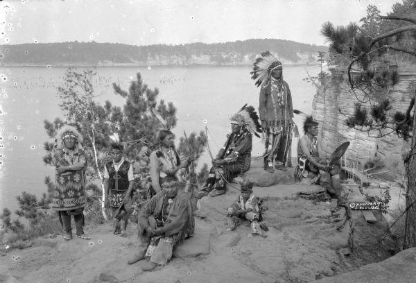 Vintage Wisconsin Dells - Native Americans | Native