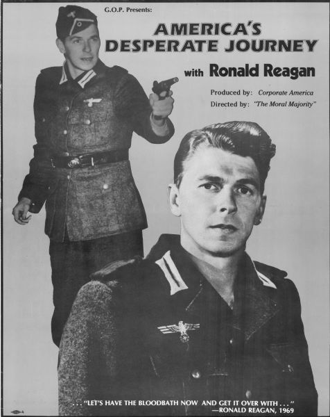 America S Desperate Journey With Ronald Reagan Poster Poster Wisconsin Historical Society Has been added to your cart. ronald reagan poster poster
