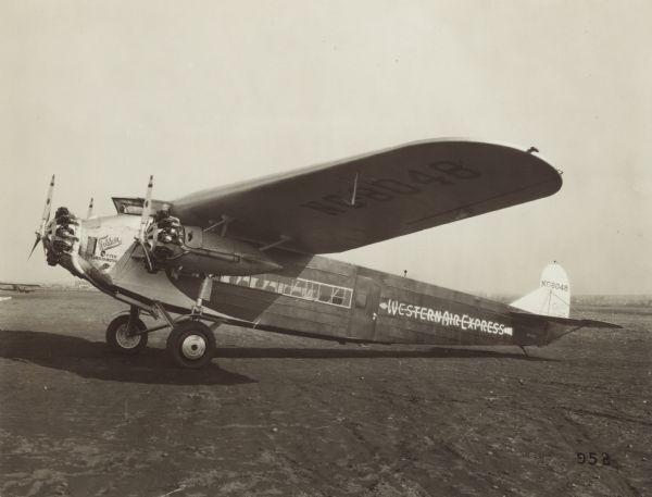 Fokker F 10 Super Trimotor Photograph Wisconsin