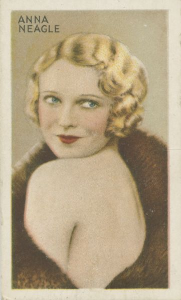 Anna Neagle [Florence Marjorie Robertson] (1904-1986), started as a dancer and became a popular film actress.