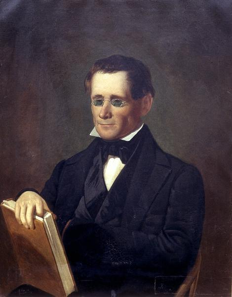 Waist-up portrait of James H. Lockwood.