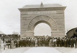 Dedication of the Camp Randall Memorial Arch