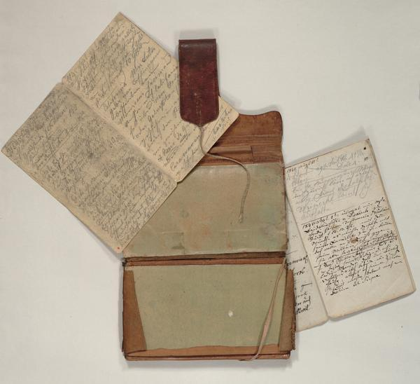 Diary and account book kept by Nicolaus C. Duerst.