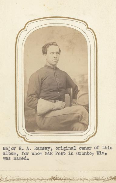 of E.A. Ramsay of the 4th Wisconsin Cavalry.