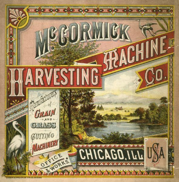 McCormick Harvesting Machine Company Catalog | Book or