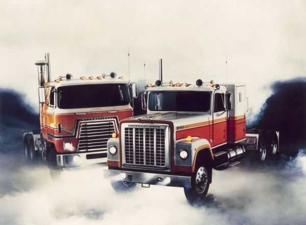 International Transtar Eagle Trucks | Photograph ...