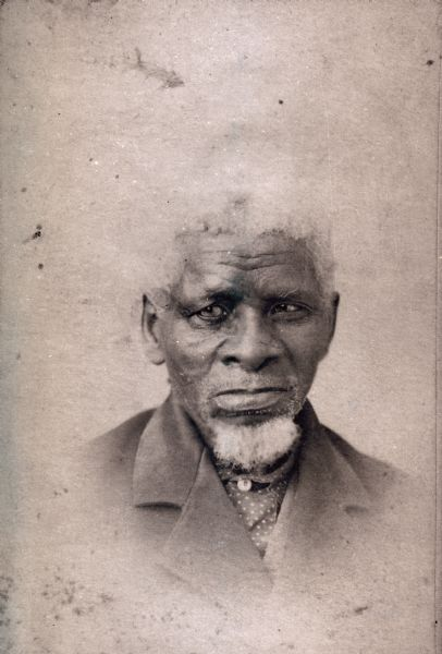 Portrait of John Greene, an original settler.