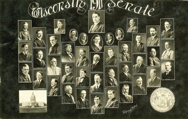 Composite photograph of the Wisconsin Senate.
