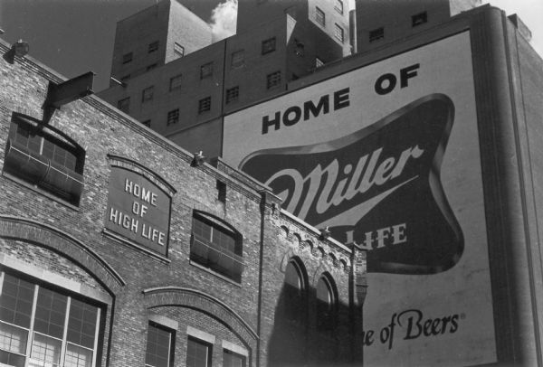 Miller Brewery taken as part of a project to document the Wisconsin brewing industry.