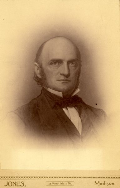Head and shoulders portrait of Alexander Randall.