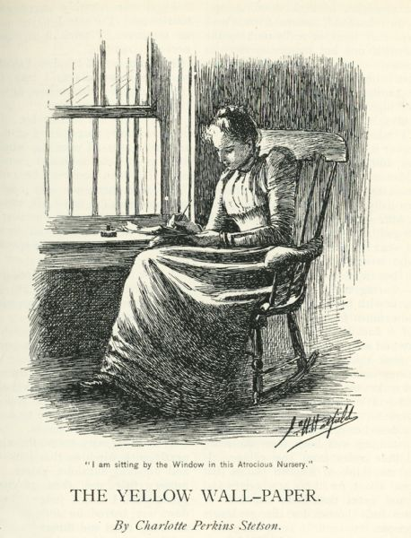 The rocking chair charlotte perkins