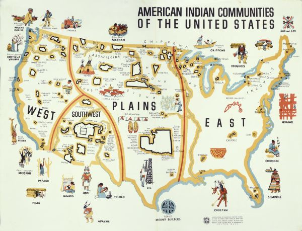 Map of American Indian Communities | Map or Atlas ... Indian S In Us Map on railroad maps in us, flowers in us, states maps in us, stats in us, florida maps in us,