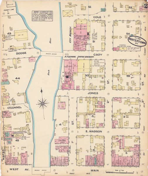 Sanborn Map of Watertown | Map or Atlas | Wisconsin Historical Society